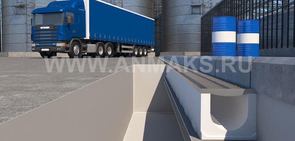 Транспортные терминалы - системы водоотвода