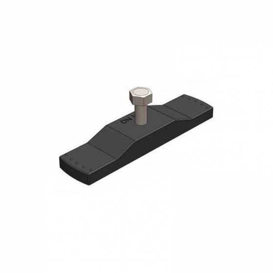 Крепеж для пластиковых и полимербетонных лотков DN100