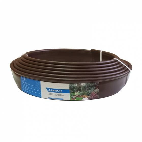 Бордюр Кантри Mini коричневый – 1000.2.14-пластиковый L 10000