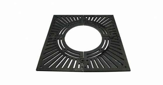 Решетка приствольная чугунная 120х120 d60 (квадратная)
