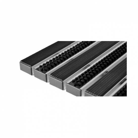 Придверная решетка Степ Бруш+Резина, A15