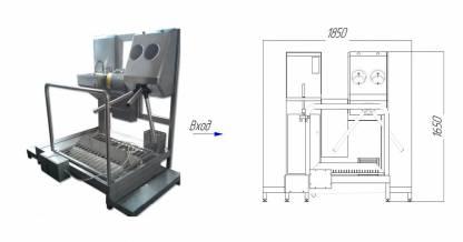 Система гигиенического доступа СП-05/ЭД