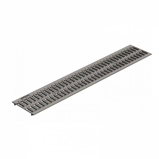 Решетка водоприемная РВ -15.18,6.100 - штампованная стальная оцинкованная кл. А (нагрузка до 1,5 тонн)