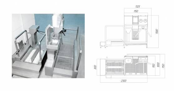 Система гигиенического доступа СП-01
