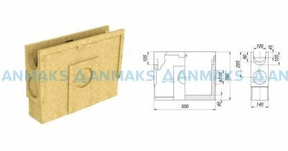 Пескоуловитель CompoMax Basic ПУ-10.14.39-П полимербетонный