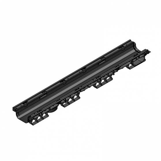 Лоток водоотводный PolyMax Basic ЛВ-10.16.08-ПП пластиковый 8010-M