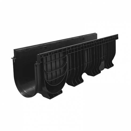 Лоток водоотводный PolyMax Basic ЛВ-20.26.30-ПП пластиковый 8560
