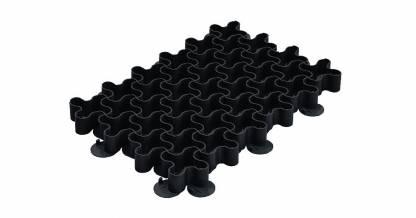 Решетка газонная РГ-60.40.5,1 пластиковая черная