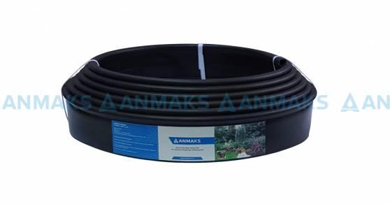 Бордюр Кантри Mini черного цвета – 1000.2.14-пластиковый L 10000