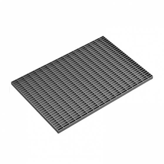 Стальная придверная решетка 490х990 мм