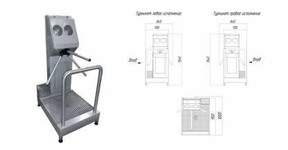 Система гигиенического доступа СП-03Э
