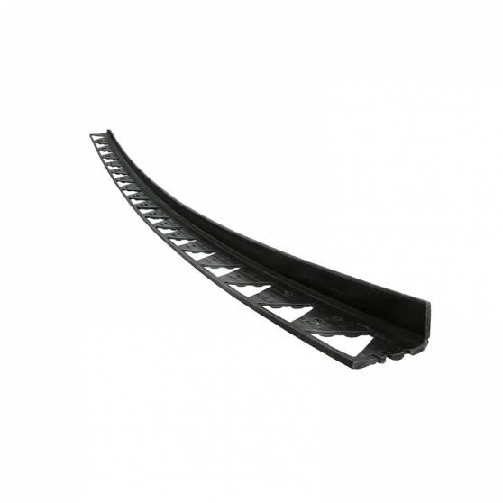 Бордюр-уголок пластиковый  L3000  мм, H 80 мм