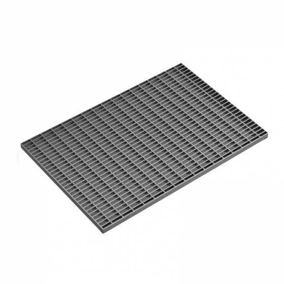 Стальная придверная решетка 390х590 мм