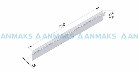 Соединение стального бордюра Linefix Super 43230