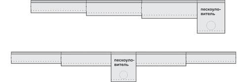 Установка Каскад для полимербетонных лотков